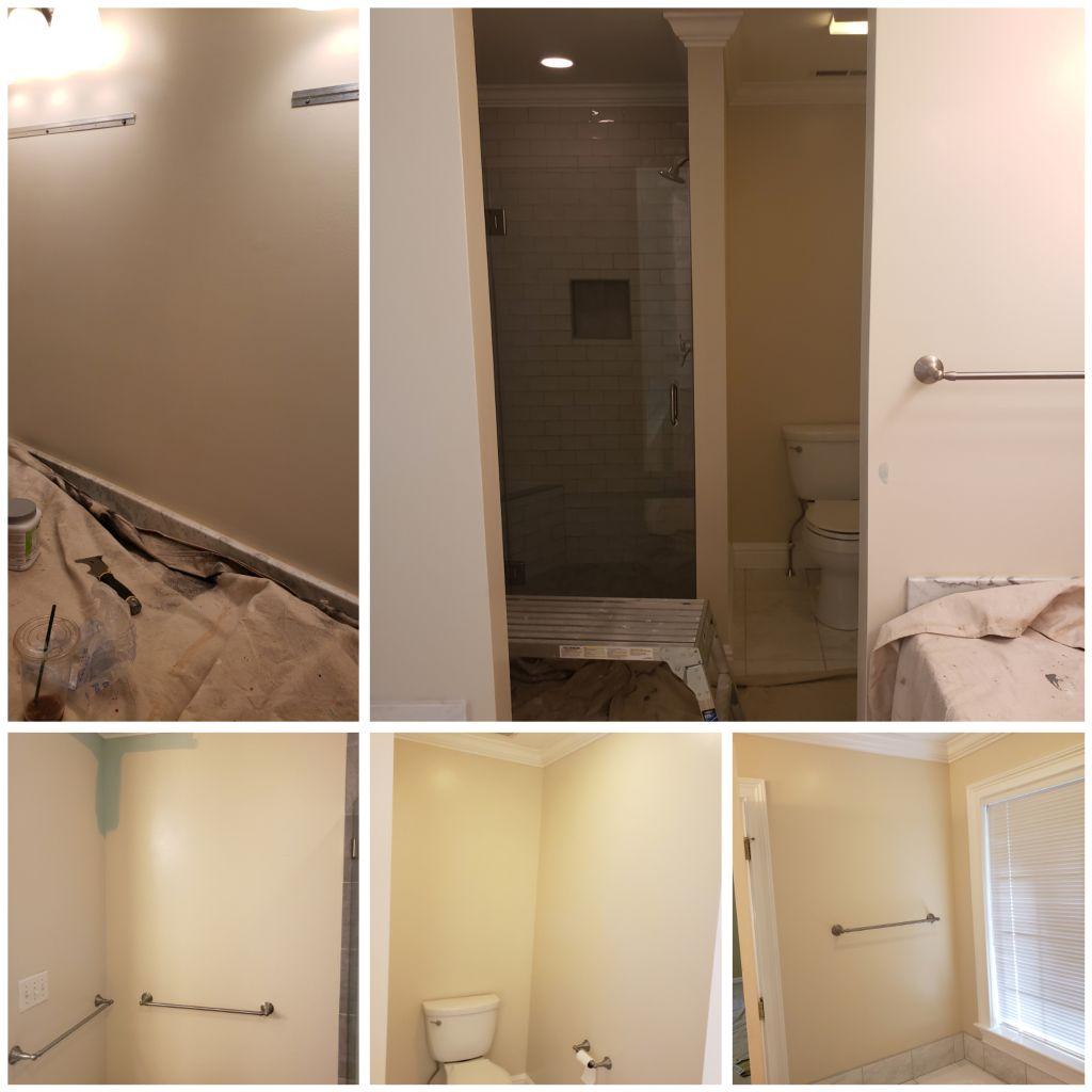 Bathroom color change