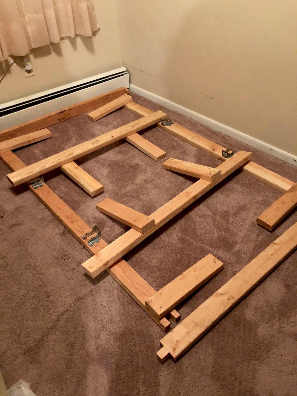 Bed frame build