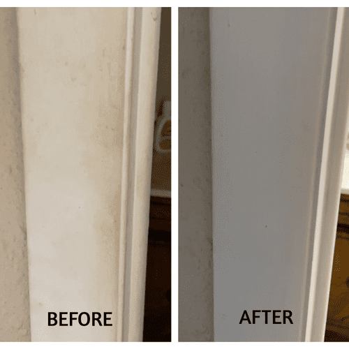 Door frame Before & After