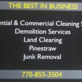 Avatar for BTN Cleaning/ Junk Removal/ Demolition Services Decatur, GA Thumbtack