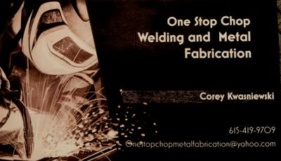 Avatar for One Stop Chop Welding and Metal Fabrication LLC Hendersonville, TN Thumbtack