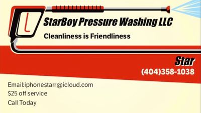 Avatar for StarBoy Pressure Washing LLC Atlanta, GA Thumbtack