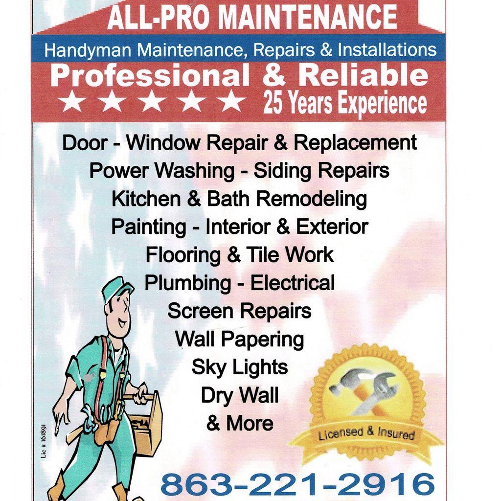 All Pro Maintenance