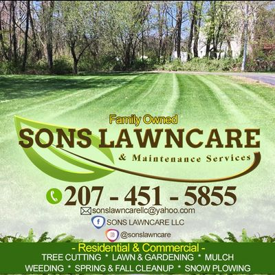 Avatar for SONS  LAWNCARE & MAINTENANCE  SERVICES York, ME Thumbtack