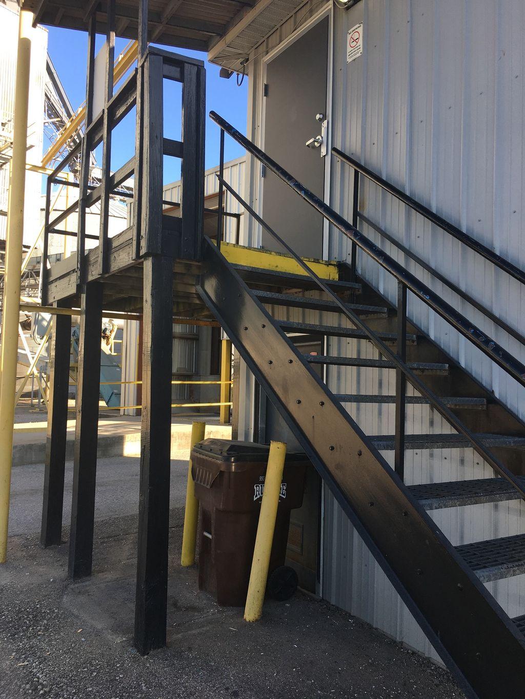 Fabricate & Install stairs, handrail, and platform