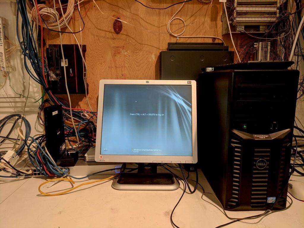 Network Rewiring & Wire Maintenance