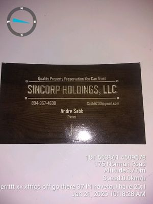 Avatar for Sincorp Holdings LLC Newark, NJ Thumbtack