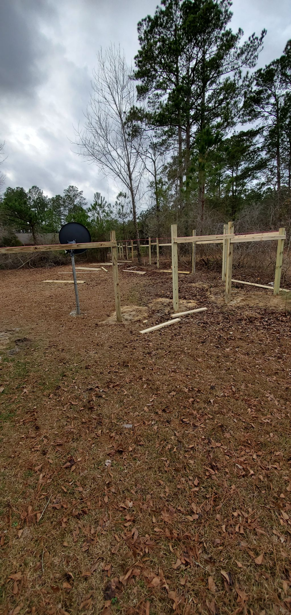 250ft fence