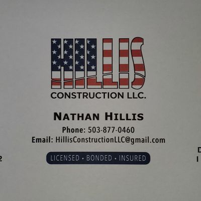 Avatar for Hillis Construction LLC