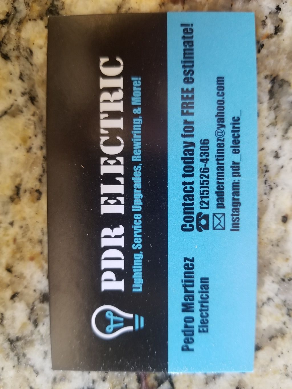 PDR Electric!
