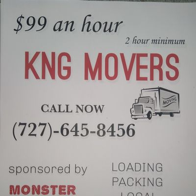 Avatar for KNG moving and labor New Port Richey, FL Thumbtack