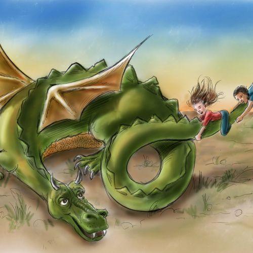 Our Pet Dragon
