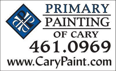Avatar for Primary Painting of Cary Fuquay Varina, NC Thumbtack