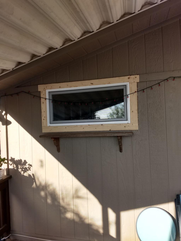 New window for bathroom
