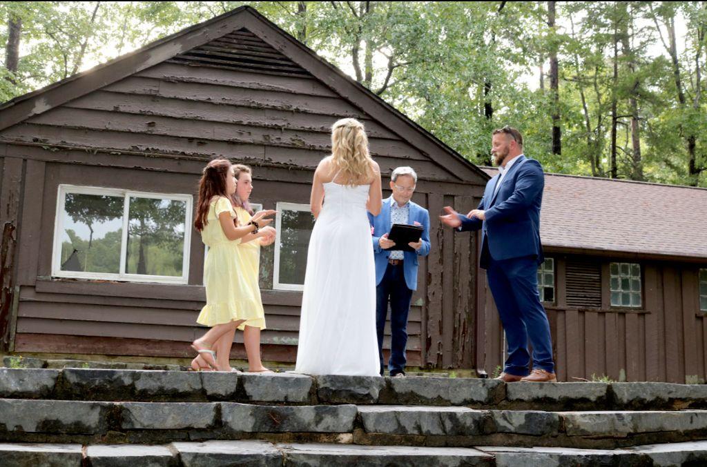 Outdoor State Park Wedding