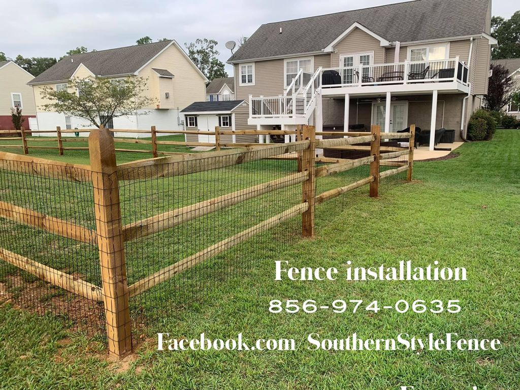 Southern Style Fence