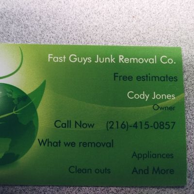 Avatar for Fast Guys Junk Removal Co