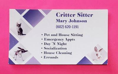 Avatar for Critter Sitter Scottsdale, AZ Thumbtack