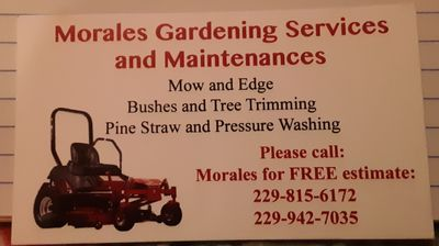 Avatar for Morales Gardening Services and Maintenances