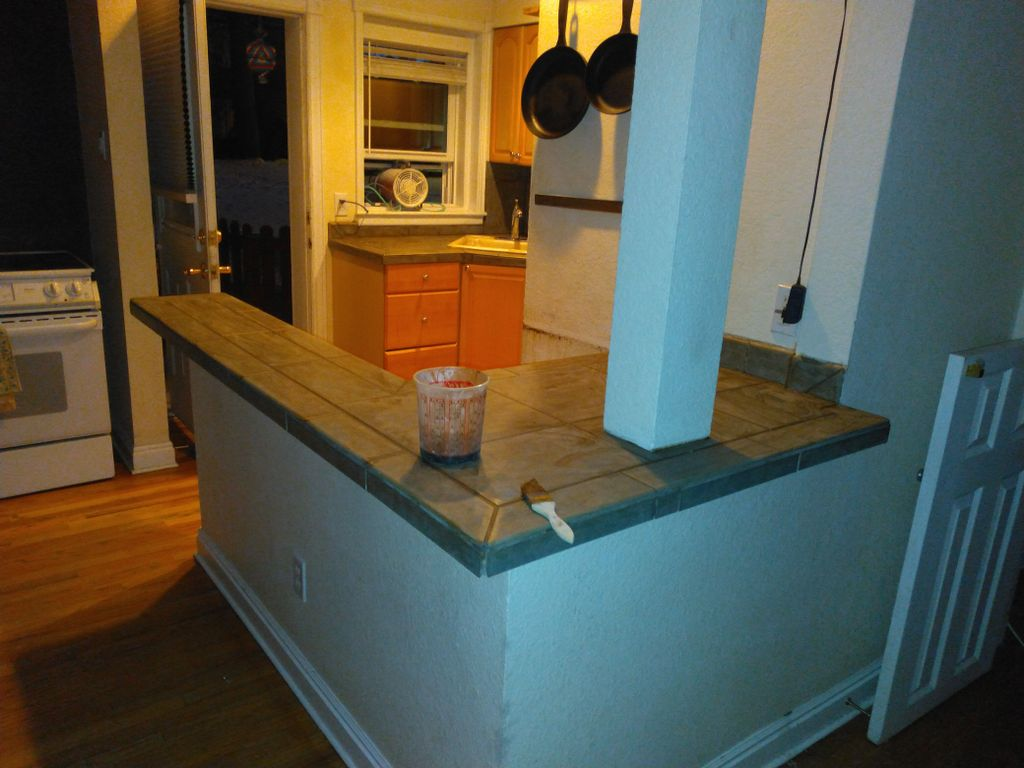 Counter tops with sink