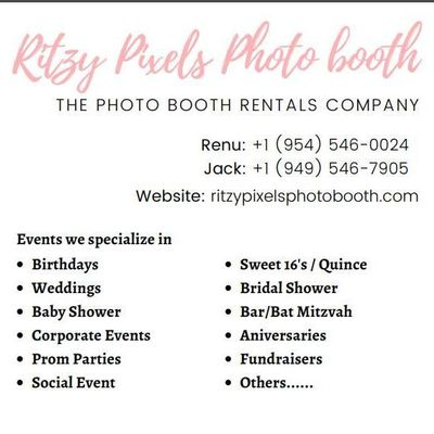 Avatar for Ritzy Pixels Photo Booth OS Los Angeles, CA Thumbtack
