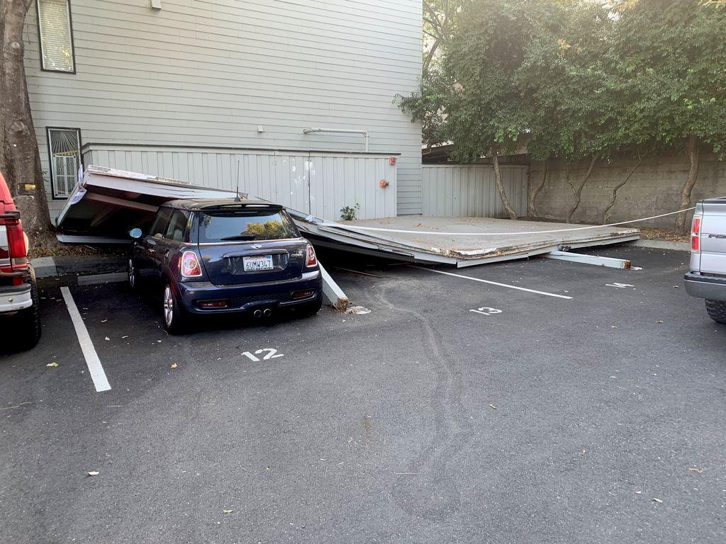 Carport removal