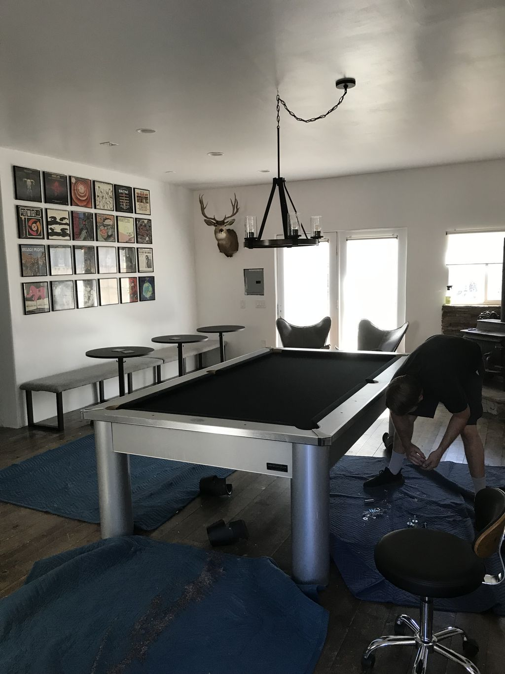 Pool Table Moving