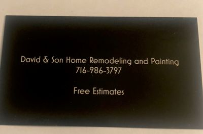Avatar for David & Son Home Remodeling and Painting Buffalo, NY Thumbtack