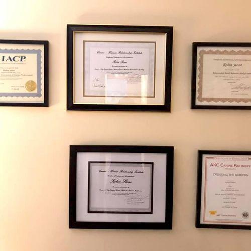 Certificates 1