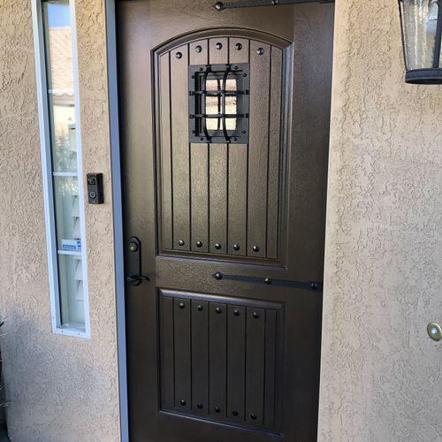 Nice exterior front door