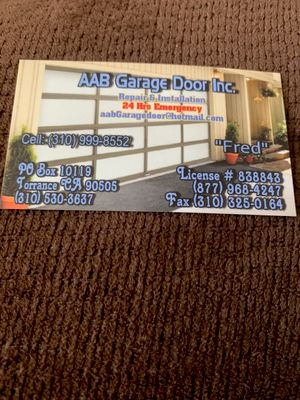 Avatar for Aabgara door Lomita, CA Thumbtack