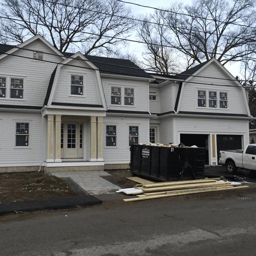 New Mansion Construction in Needham