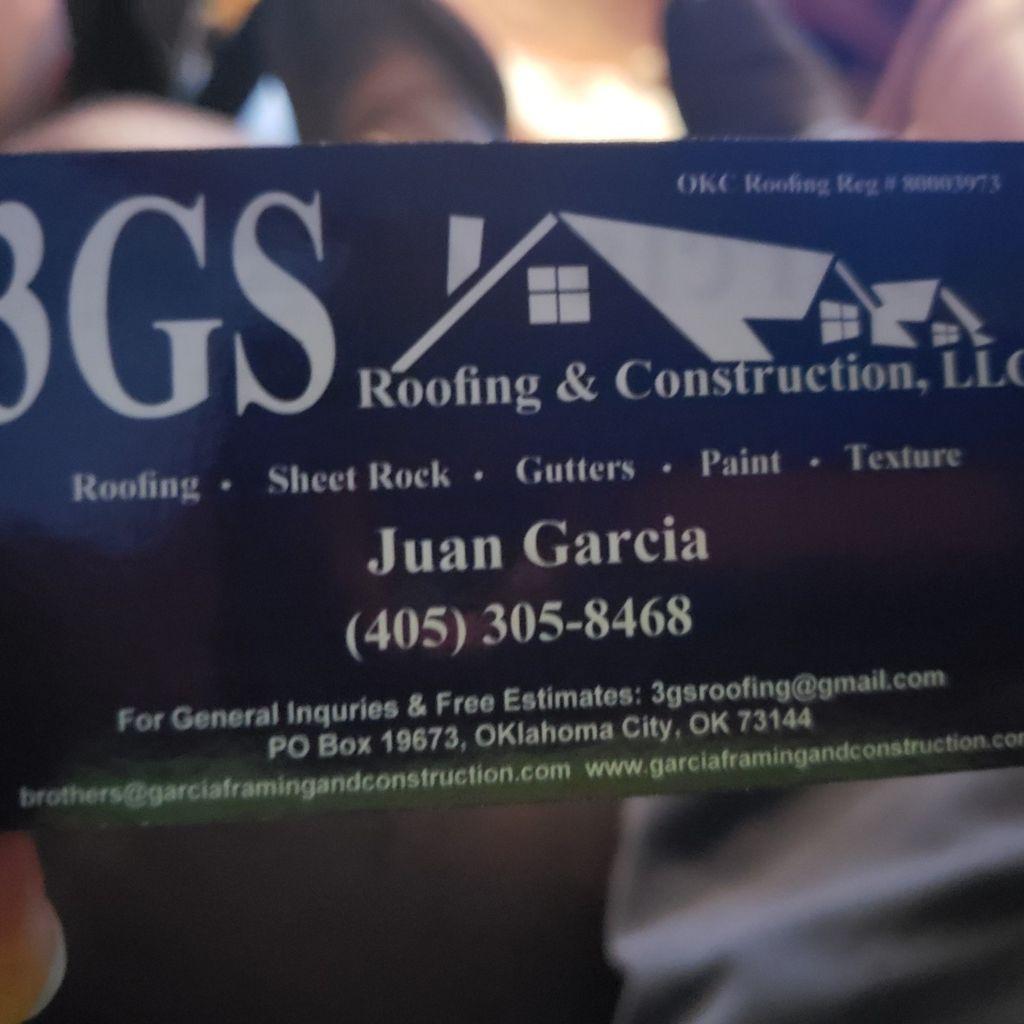 3GSROOFING&CONSTRUCTIONLLC.