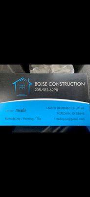Avatar for Boise construction