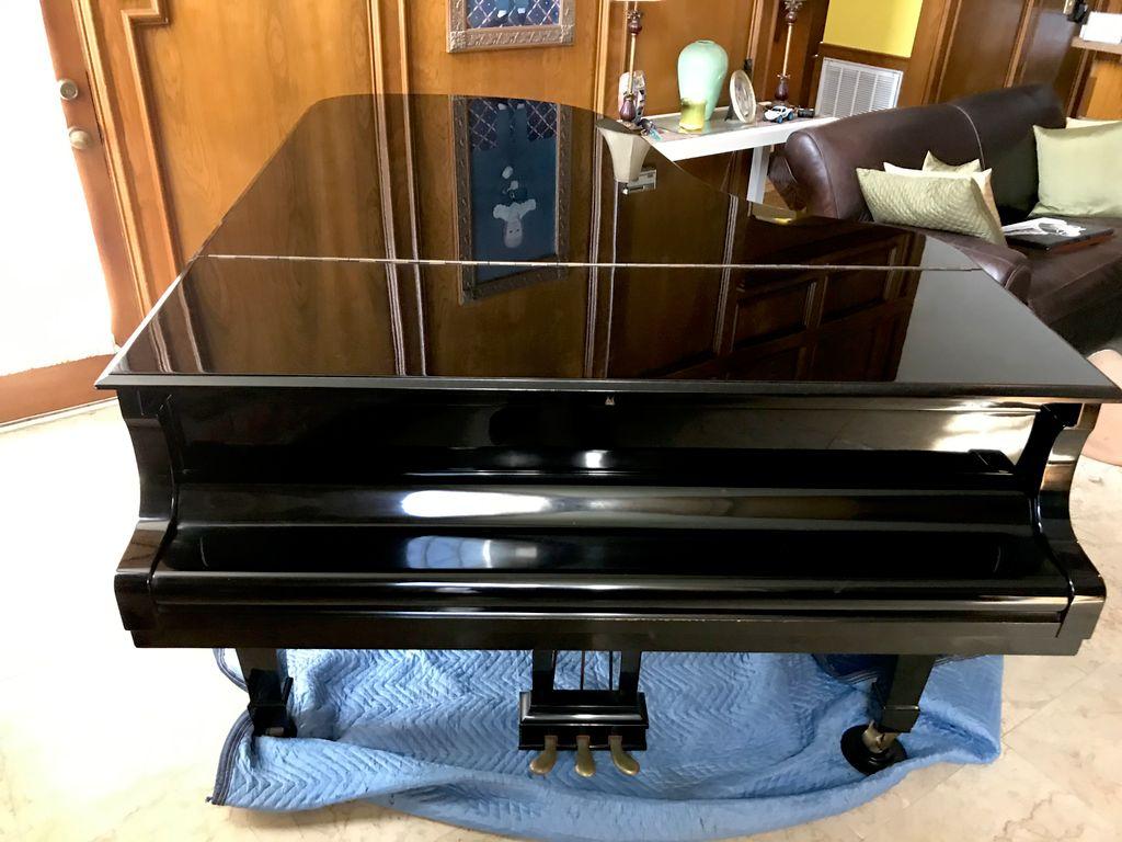 7 ft petite grand piano