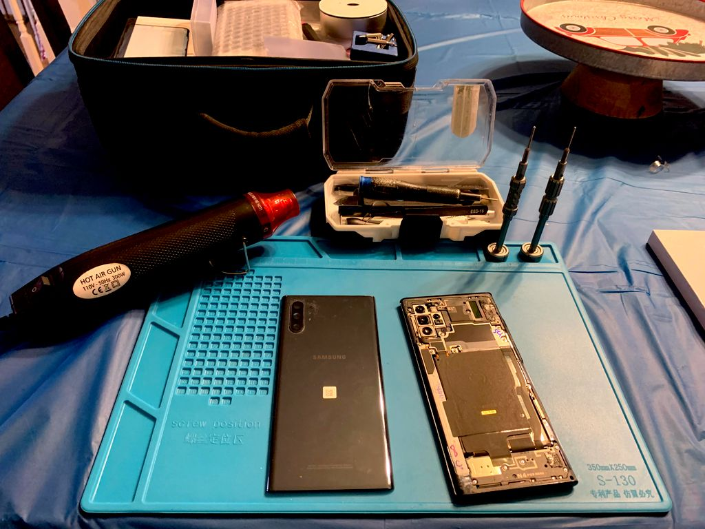 Galaxy Note 10 screen replacement