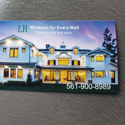 Avatar for LH impact windows and doors Installations Pompano Beach, FL Thumbtack
