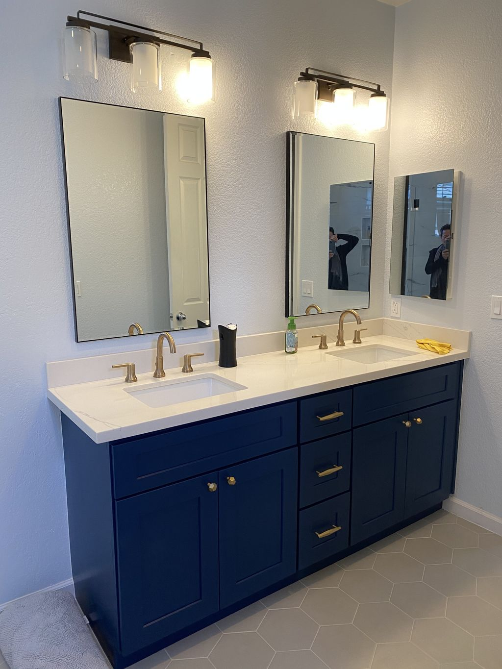 Full bathroom remodeling add free stand tub