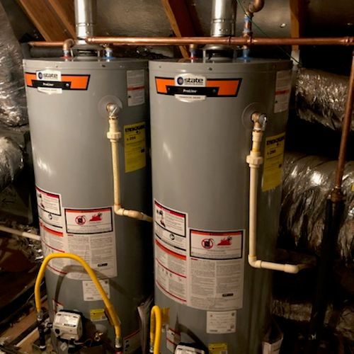 Dual water heater installation