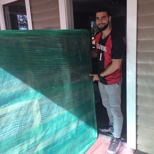 When your mattresses are being stored in Pods for a lengthy time, we wrap them to ensure safe delivery.