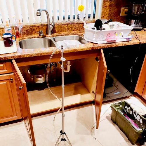 Kitchen Air Test