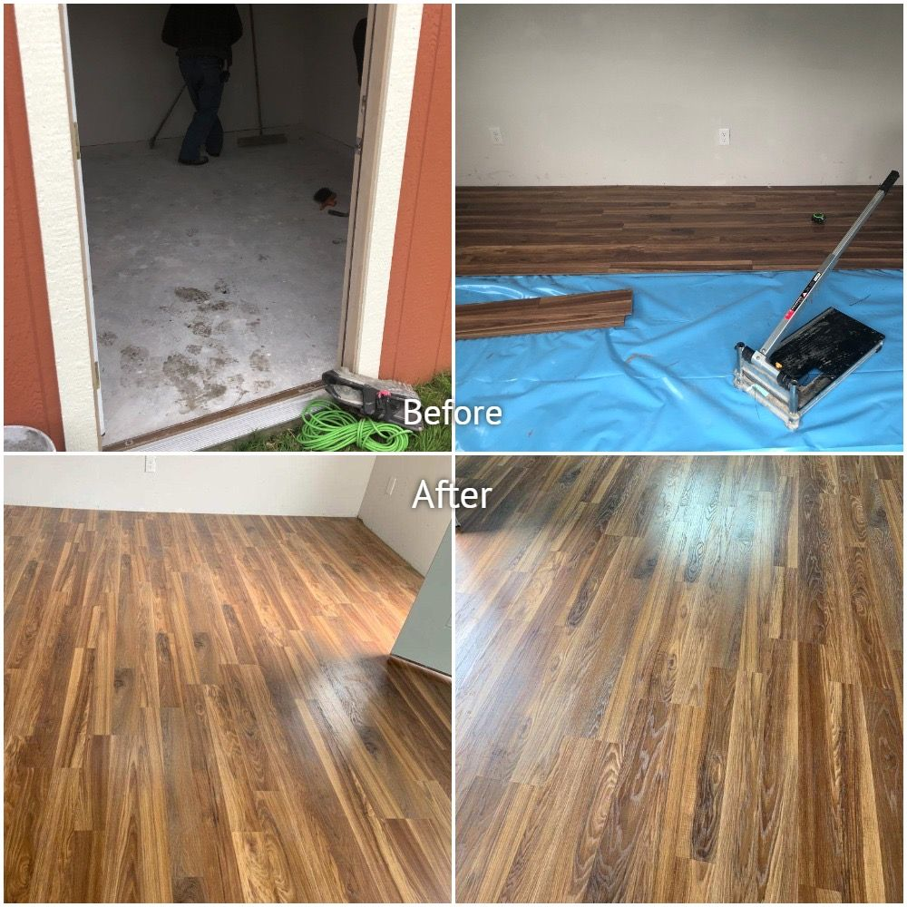 Shed Laminate Project