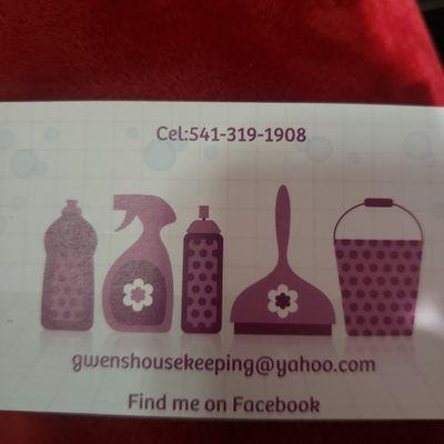 Avatar for Gwen's Housekeeping Myrtle Creek, OR Thumbtack
