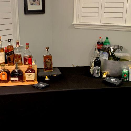 Whiskey tasting birthday bar, Dublin.