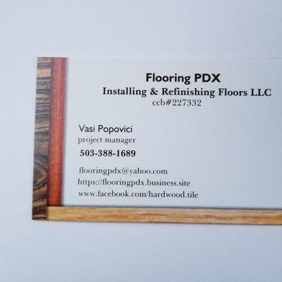 Avatar for Flooring PDX  Installing & Refinishing Floors LLC Portland, OR Thumbtack