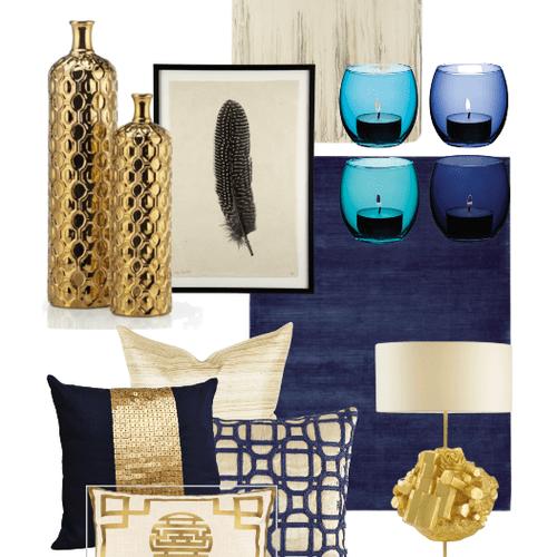Interior Design - Concept board for accessories