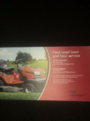 Avatar for Next level hauling and lawn services