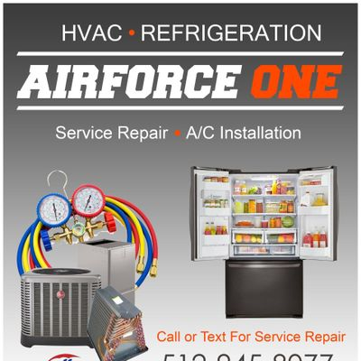 Avatar for Airforce One HVAC & Refrigeration Hutto, TX Thumbtack