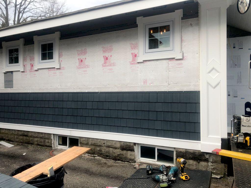 Outside Siding remodeling