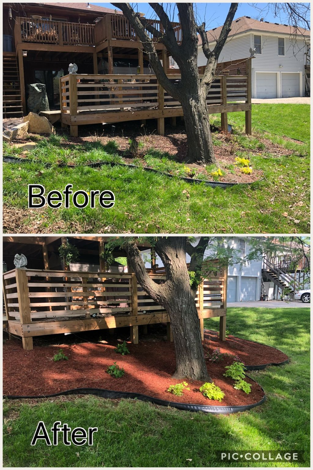 Prep and Mulch Beds